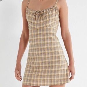 UO plaid dress